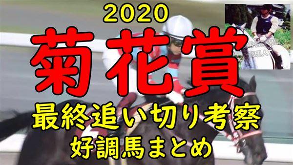 予想 2020 菊花賞