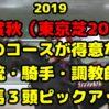 【2019 天皇賞秋 コースデータ予想】騎手・調教師・血統の傾向