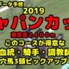 【2019ジャパンC 過去データ穴馬予想】血統・騎手・調教師傾向